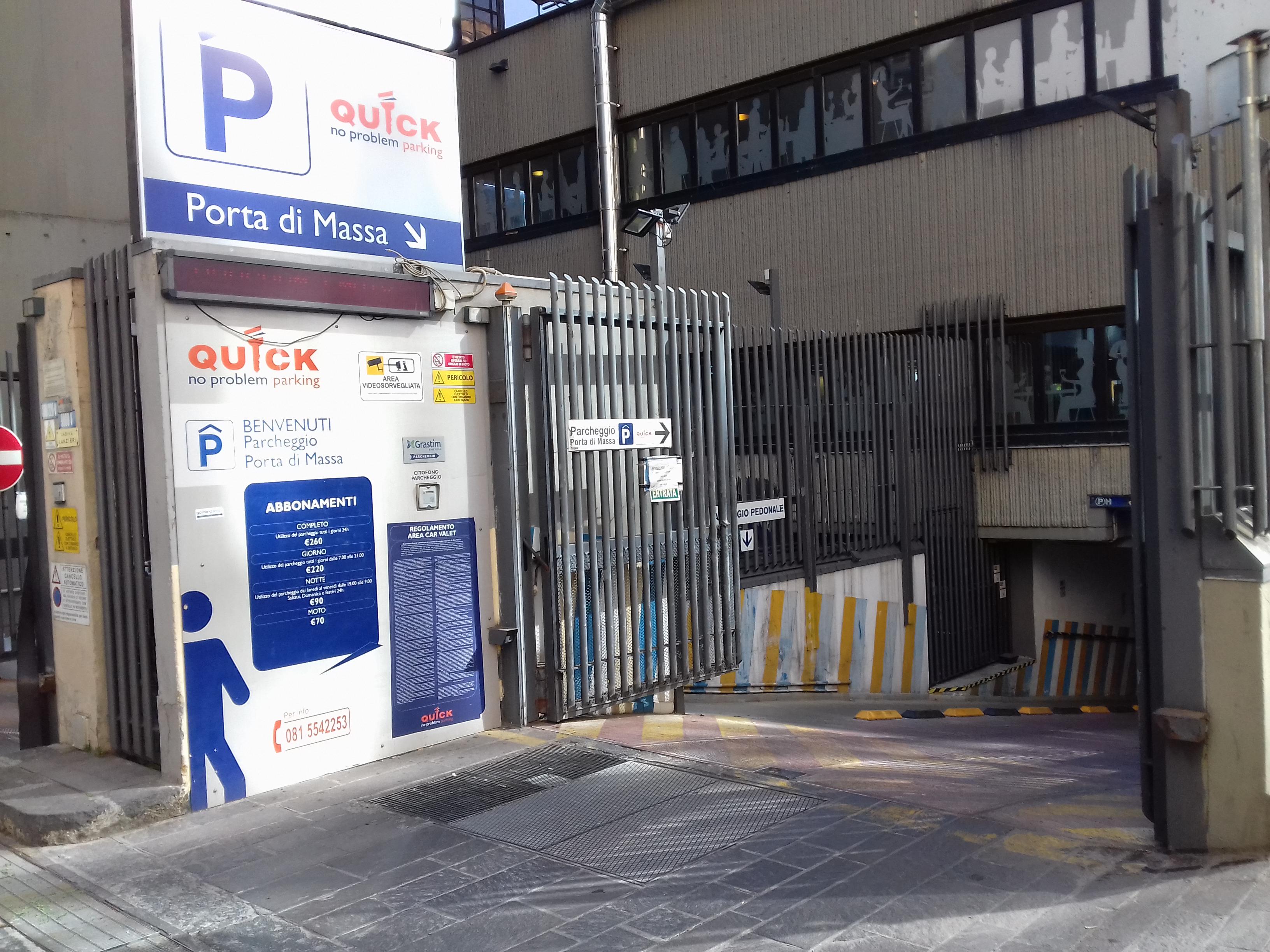 Parcheggio porto napoli porta di massa prenota adesso - Porta di massa napoli ...
